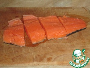 Запеченный лосось с кунжутом – кулинарный рецепт