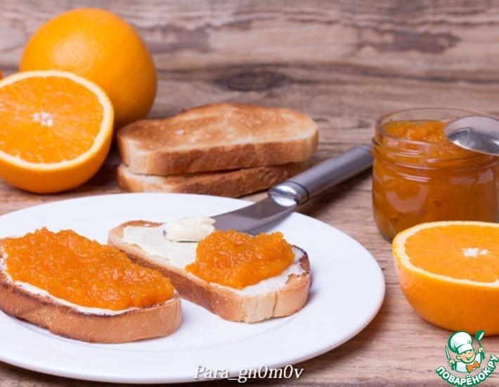 Рецепт: Морковно-апельсиновый конфитюр