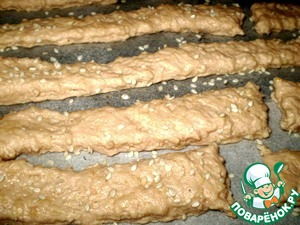 Томатно-сырное печенье без яиц