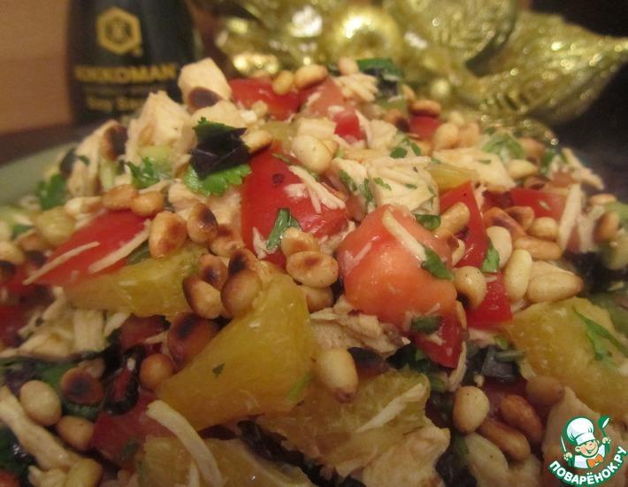 Рецепт: Салат Все цвета радуги