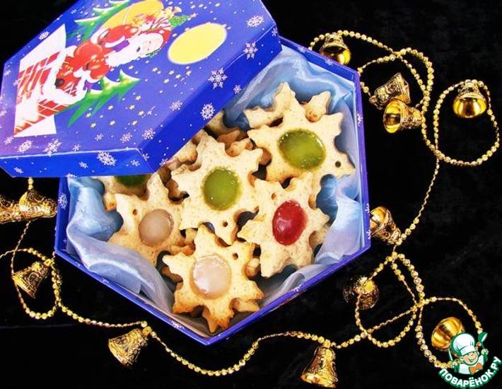 Рецепт: Печенье Битое стекло