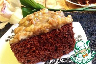 Рецепт: Карамельно-ореховый Брауни