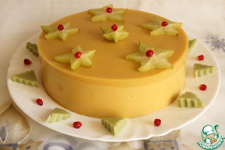 Манговый торт-мусс с сюрпризом