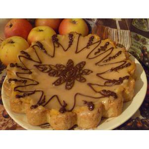 Яблочный пирог Неженка