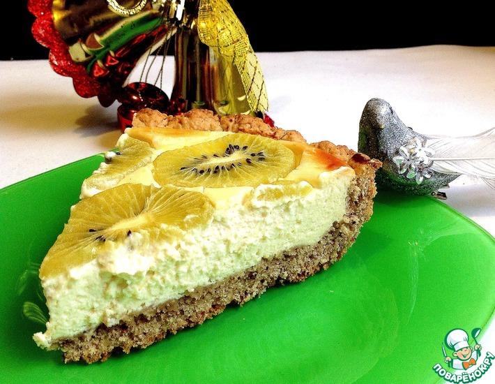 Рецепт: Ореховый тарт с киви