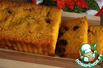 Рецепт: Кукурузный десертный хлеб