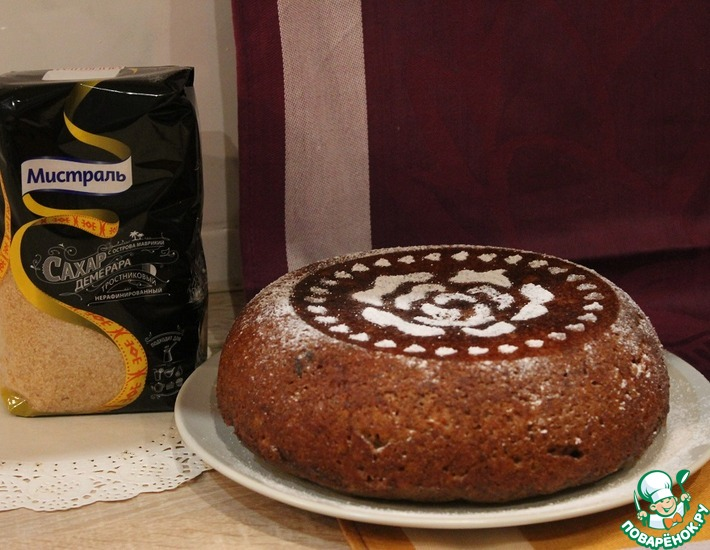Рецепт: Кофейный монастырский пирог