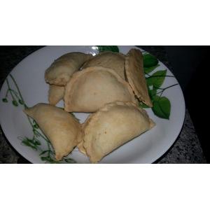 Индонезийские пирожки с лапшой и яйцом