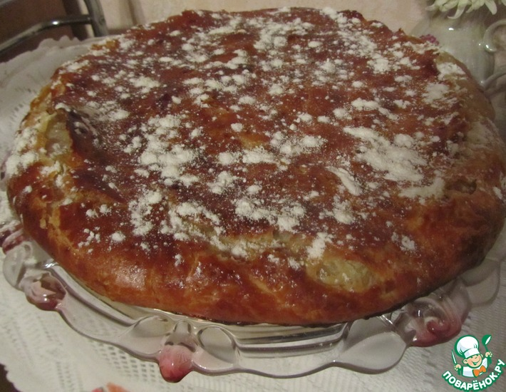 Рецепт: Египетский пирог Фытыр