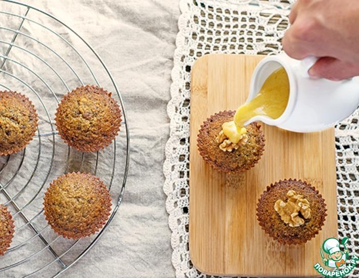 Рецепт: Маффины из фиников с карамелью Тоффи