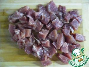 Мясо в молочно-соевом соусе с картофельным пюре – кулинарный рецепт
