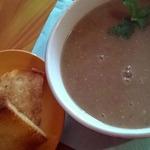 Суп с чечевицей по-овернски