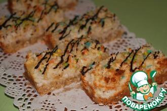 Рецепт: Кокосовые пирожные на белках Тропикана