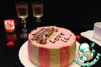Рецепт: Торт Love is...