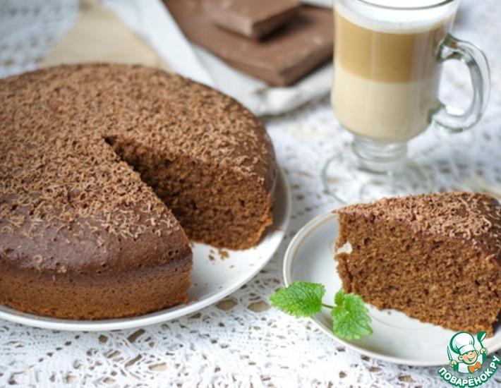 Рецепт: Шоколадный кекс в мультиварке
