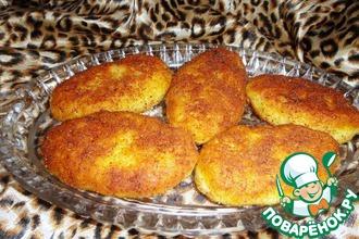 Рецепт: Зразы картофельные с мидиями
