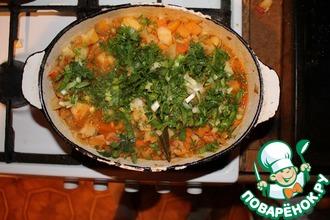 Рецепт: Овощное рагу с репой