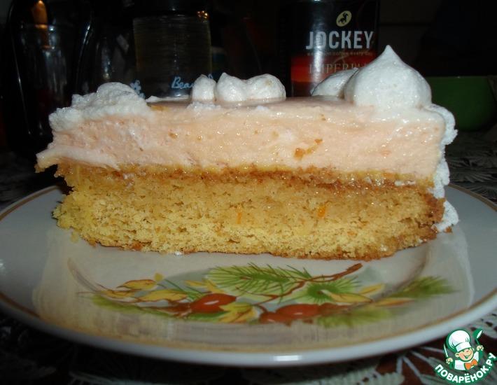 Рецепт: Суфле для торта из маршмеллоу