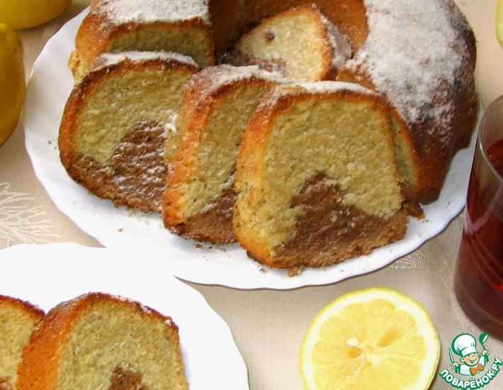 Рецепт: Марципановый кекс с амаретто
