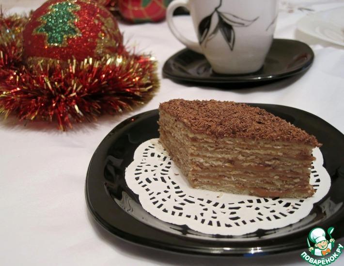 Рецепт: Пирожные Микадо
