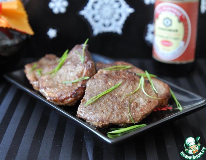 Рецепт: Мясо по-японски