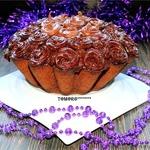 Морковно-шоколадный кекс
