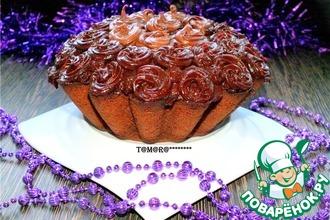 Рецепт: Морковно-шоколадный кекс