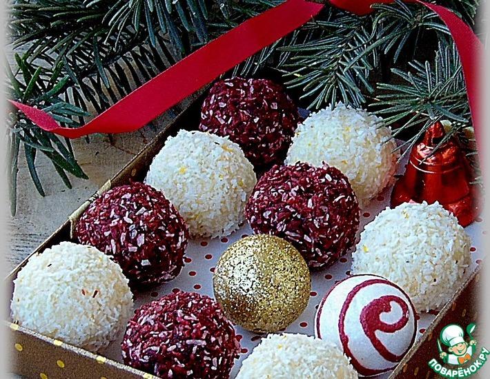 Рецепт: Конфеты Подарочные