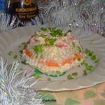 Салат-желе Новогодний с сюрпризом