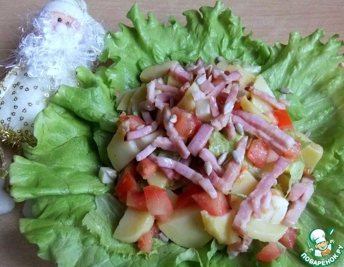Рецепт: Итальянский картофельный салат