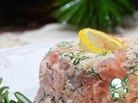 Закуска праздничная пикантная Два лосося ингредиенты
