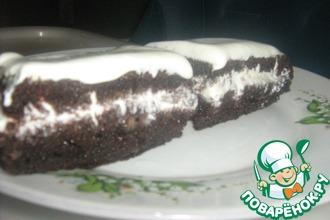 Рецепт: Домашний черемуховый торт