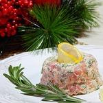 Закуска праздничная пикантная Два лосося