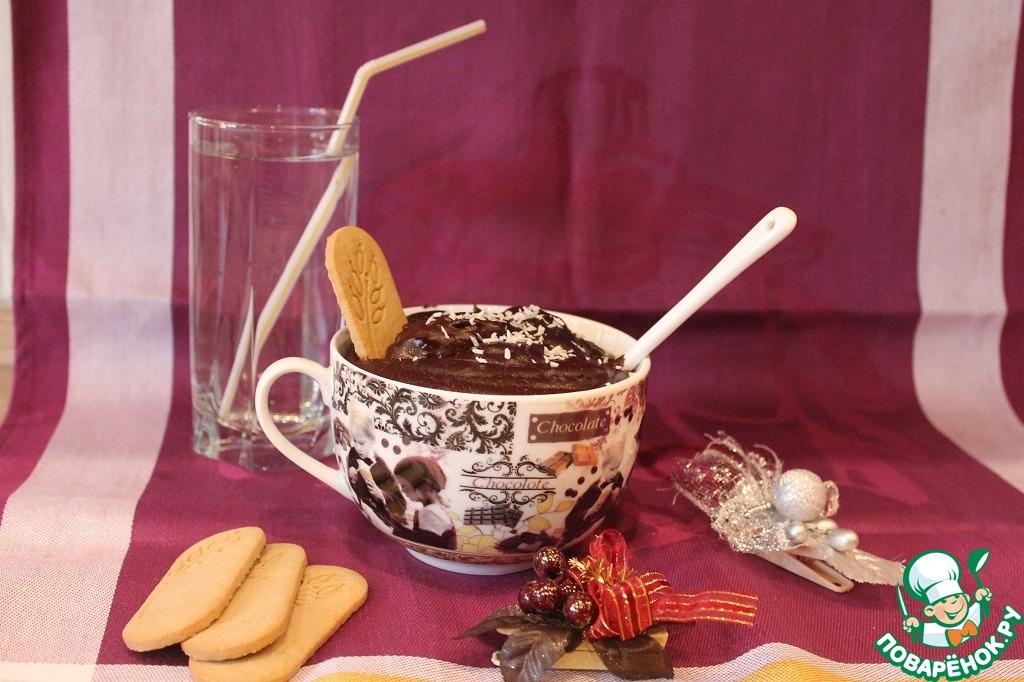 Десерт из какао