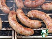 Ароматная гриль-колбаска ингредиенты