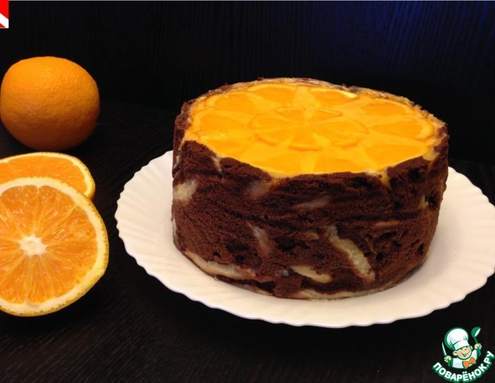 Рецепт: Торт Апельсиновая мечта