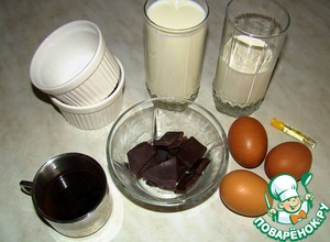 Кофейно-шоколадный пудинг – кулинарный рецепт