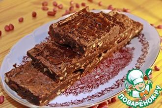 Рецепт: Шоколадно-арахисовое Наслаждение