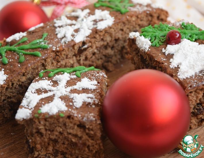 Рецепт: Рождественский яблочный пирог