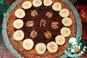 Рецепт: Веганский тыквенный пирог