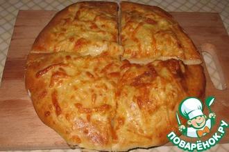 Рецепт: Хачапури с сыром
