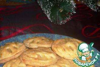 Рецепт: Ананасовое печенье