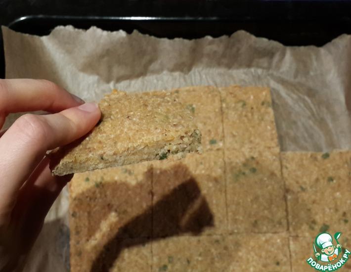 Рецепт: Нутово-овсяный хлеб