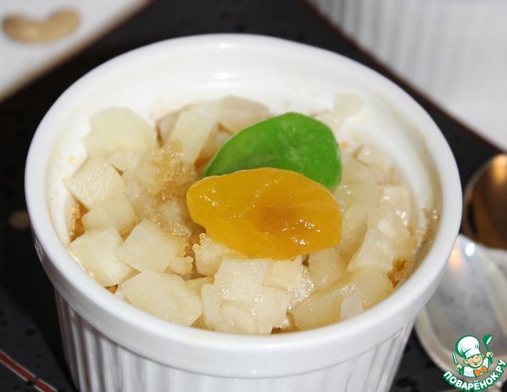 Рецепт: Лимонный пудинг