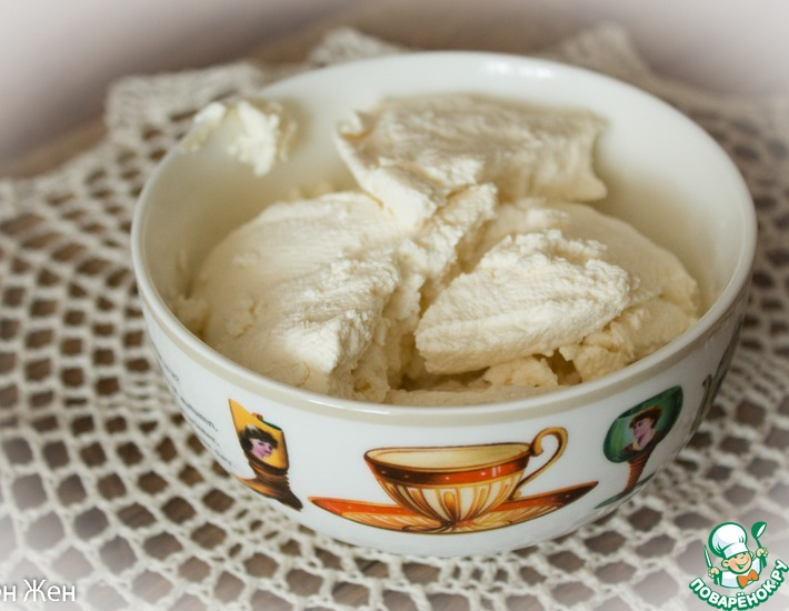 Рецепт: Сыр Фромаж Блан домашний