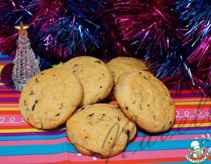 Рецепт: Печенье с базиликом и имбирем