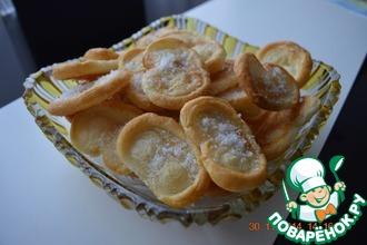 Рецепт: Печенье Свиные ушки