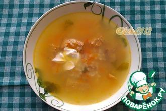Рецепт: Суп из рыбных консерв