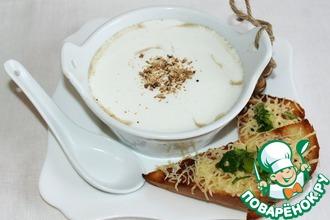 Рецепт: Суп-пюре Капуччино