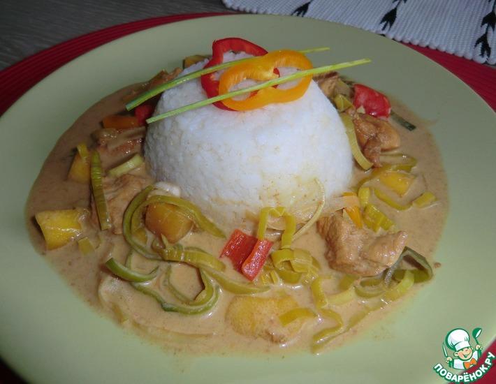 Рецепт: Курица Манго